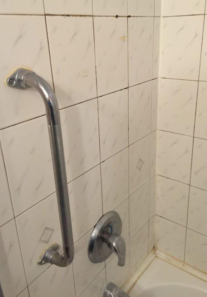Bathroom Tub Before