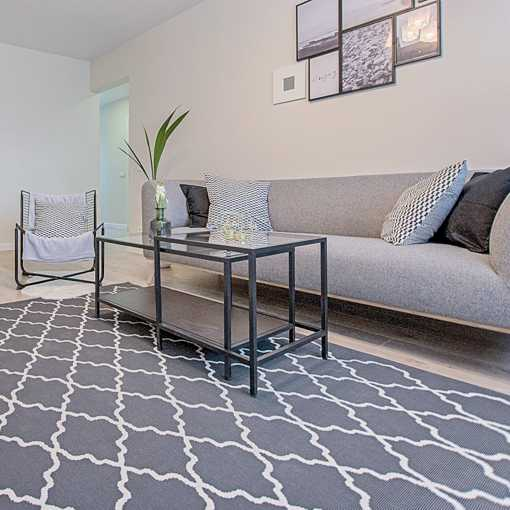 Living Room Tufted Area Rug